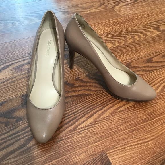Shoes | Nine West Beige Heels | Poshmark